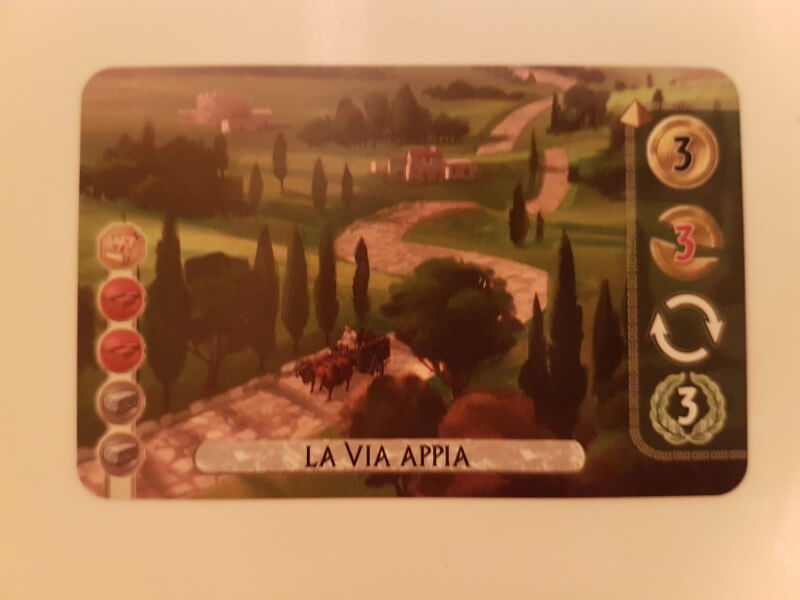 7 Wonders Duel Merveille Via Appia