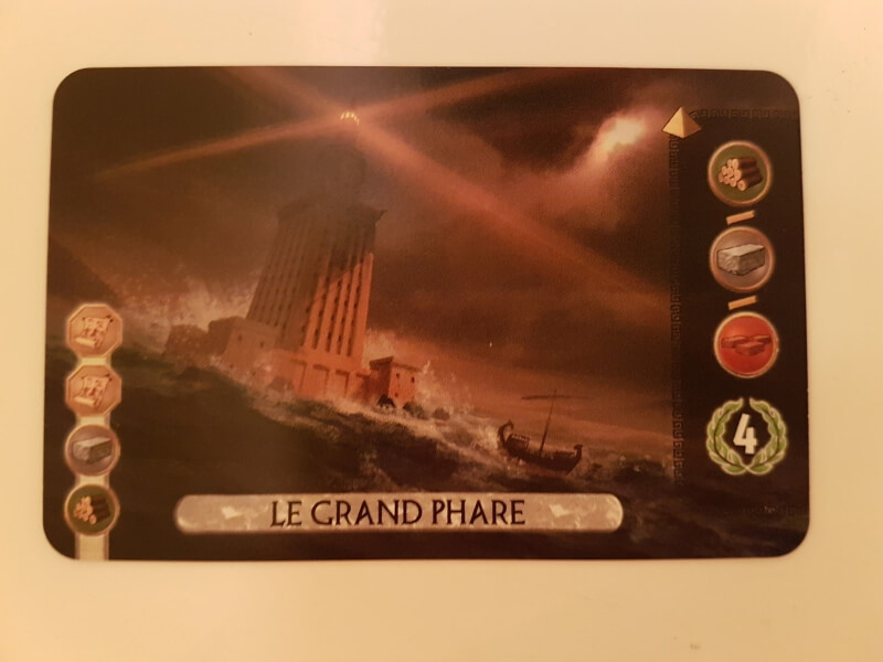 7 Wonders Duel Merveille le grand phare
