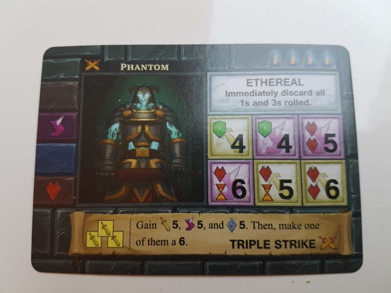 one deck dungeon fiche de skill 2