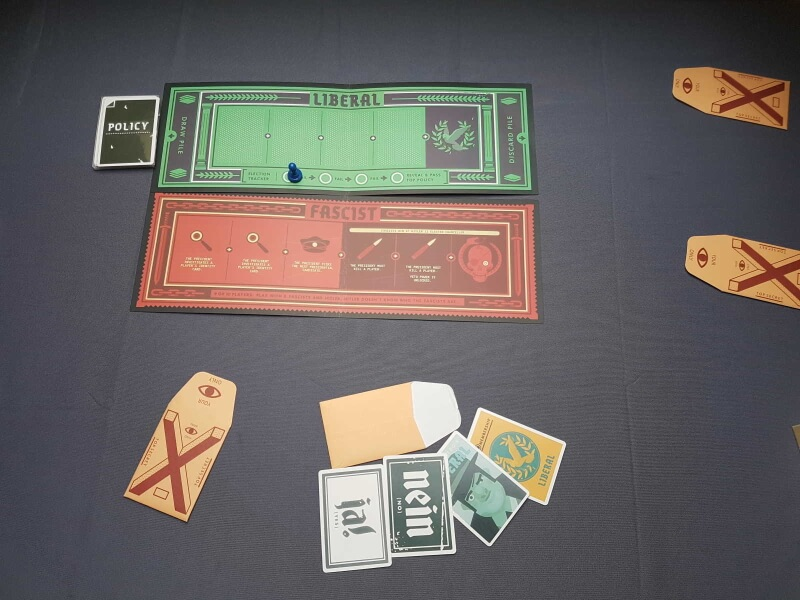 Secret Hitler   Mise en place