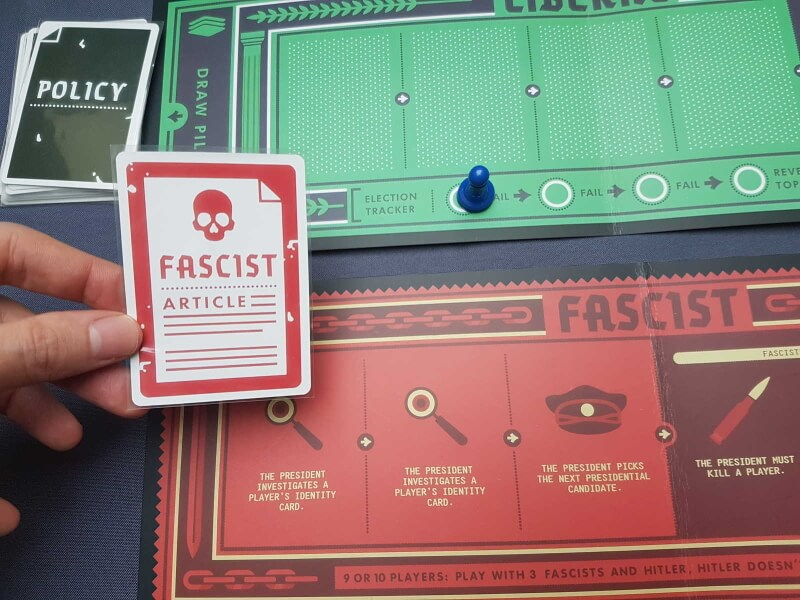 Secret Hitler   voter une loi fasciste