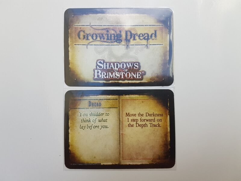 shadows of brimstone   carte growing dread