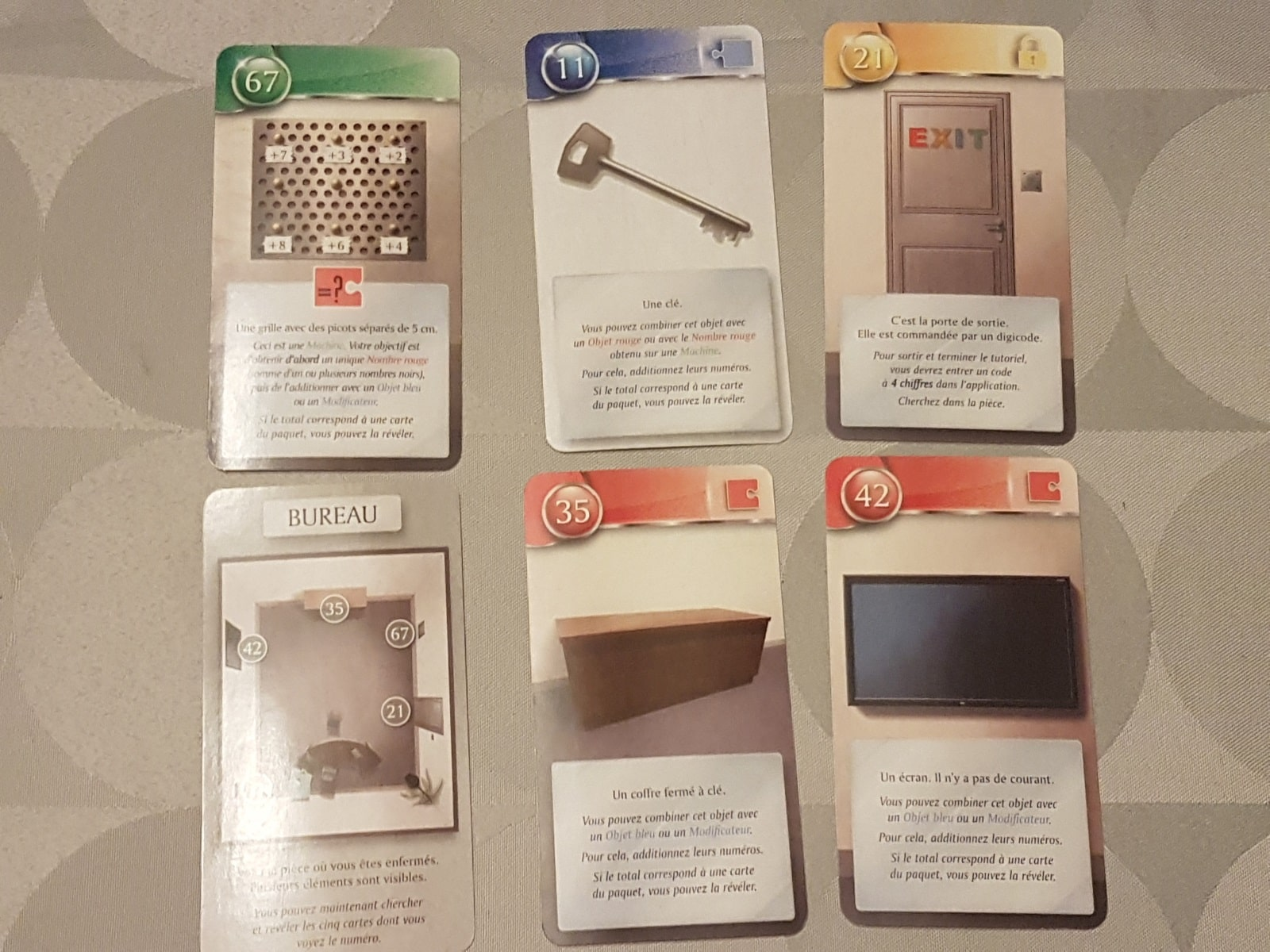 unlock escape adventures Toutes les cartes